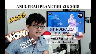 Download Lagu [REAKSI] WOW! SITI NURHALIZA & JUDIKA - Anta Permana & Kisah Ku Inginkan | Anugerah Planet Muzik '18 mp3