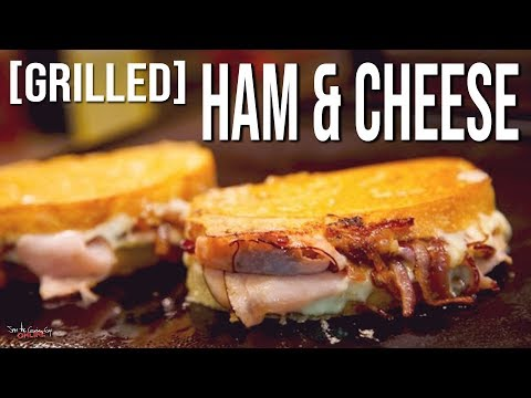 The Best Grilled Ham and Cheese Ever | SAM THE COOKING GUY