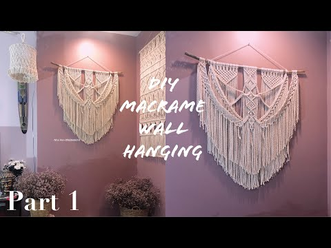 macrame-wall-hanging-tutorial-part-1-/-easy-diy-for-macrame-beginners
