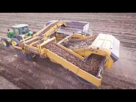 Double L's All-New High-Capacity Potato Harvester