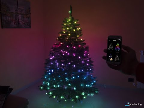 Recensione Twinkly Smart Decoration le luci smart per Albero di Natale