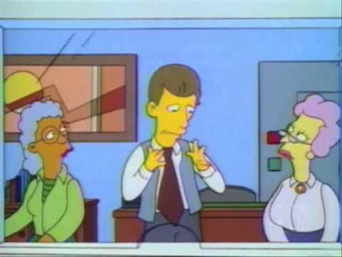 Bart Simpson Starts a Bank Run