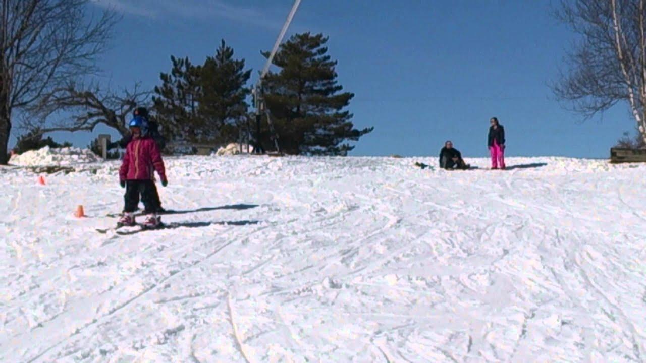 Skiing at Ski Martock