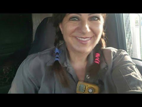 Molly Sizer Female Frac Sand Trucker / My 60,000 pound life