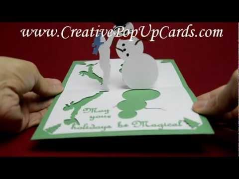new 2013 laser cut invitations 3d pop up cards birthday