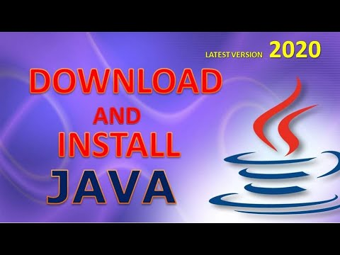 How To Download And Install JAVA  | Win 7,8,10(32/64)bits | Set Path ( 2020)