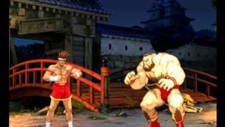Capcom VS SNK Pro (Dreamcast) Arcade Mode as Joe/Terry/King