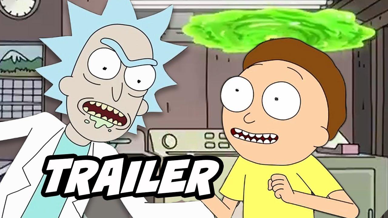 Rick And Morty Season 4 Teaser Season 4 Episode 1 Early