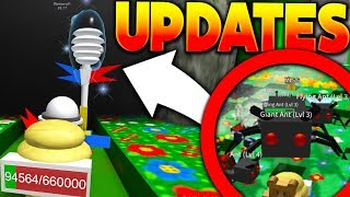 KING ANT BOSS & ALL SECRET UPDATE INFO!! - Roblox Bee Swarm Simulator (Update)