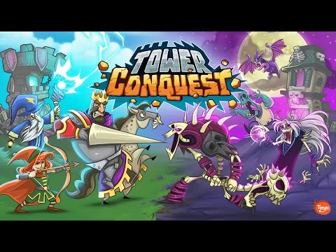 Tower Conquest (Part 1) Strategy Defense Games Videos games for Kids