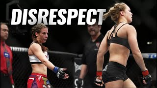 10 Blatantly Disrespectful Moments in MMA (UFC)