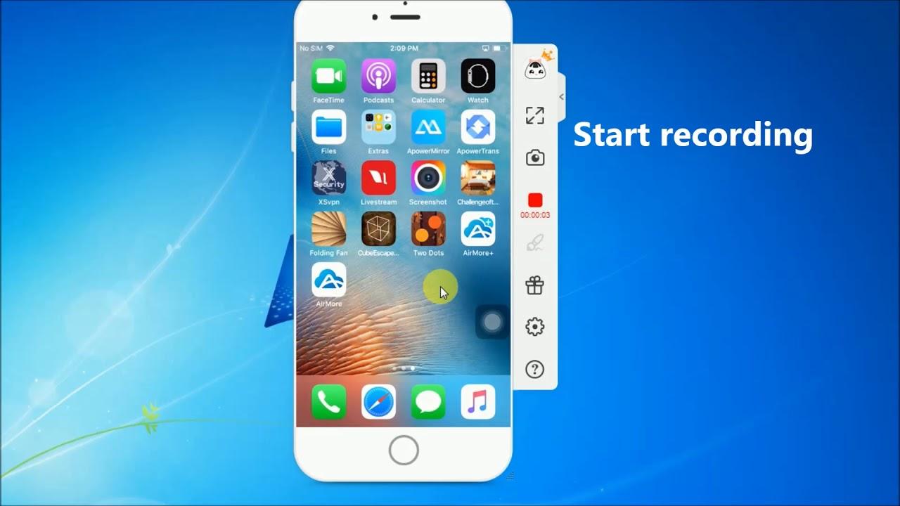 ApowerMirror: Best Screen Mirroring App for iPhone 8