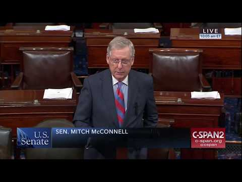 Senate Majority Leader Mitch McConnell honors Kentucky co-op linemen, hurricane relief