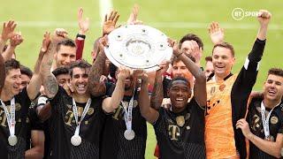 Bayern Bid Farewell To Alaba, Boateng And Martinez Amidst Nine-In-A-Row Bundesliga Celebrations