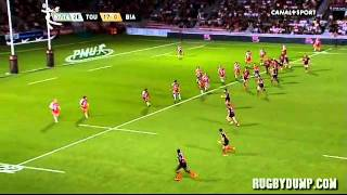 Tries in France 2011 2012 day 4 Toulouse - Biarritz