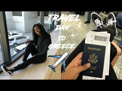   20 HOUR TRAVEL DAY TO GREECE!   STUDY ABROAD VLOG   TRAVEL VLOG  tramsue  