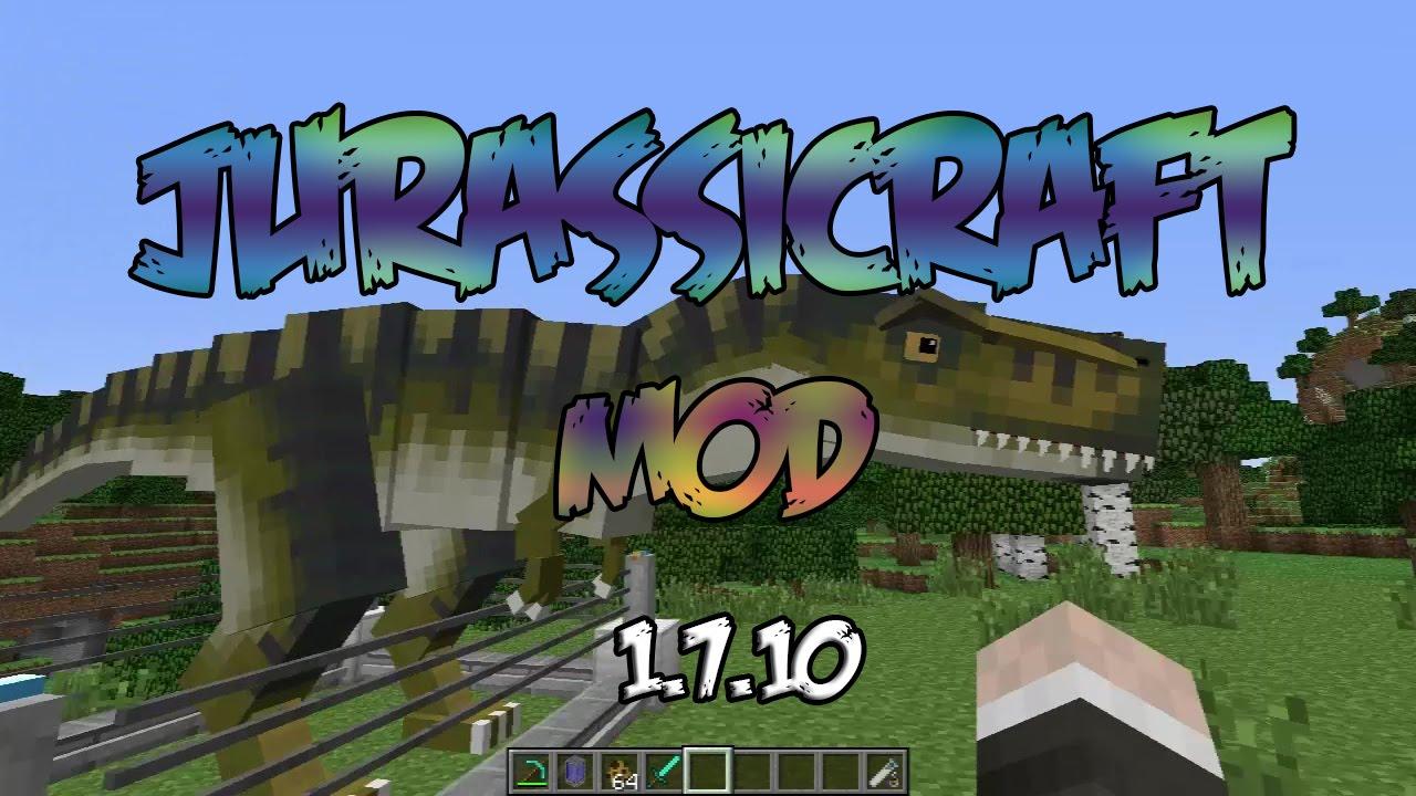 jurassic craft mod 1.7.10