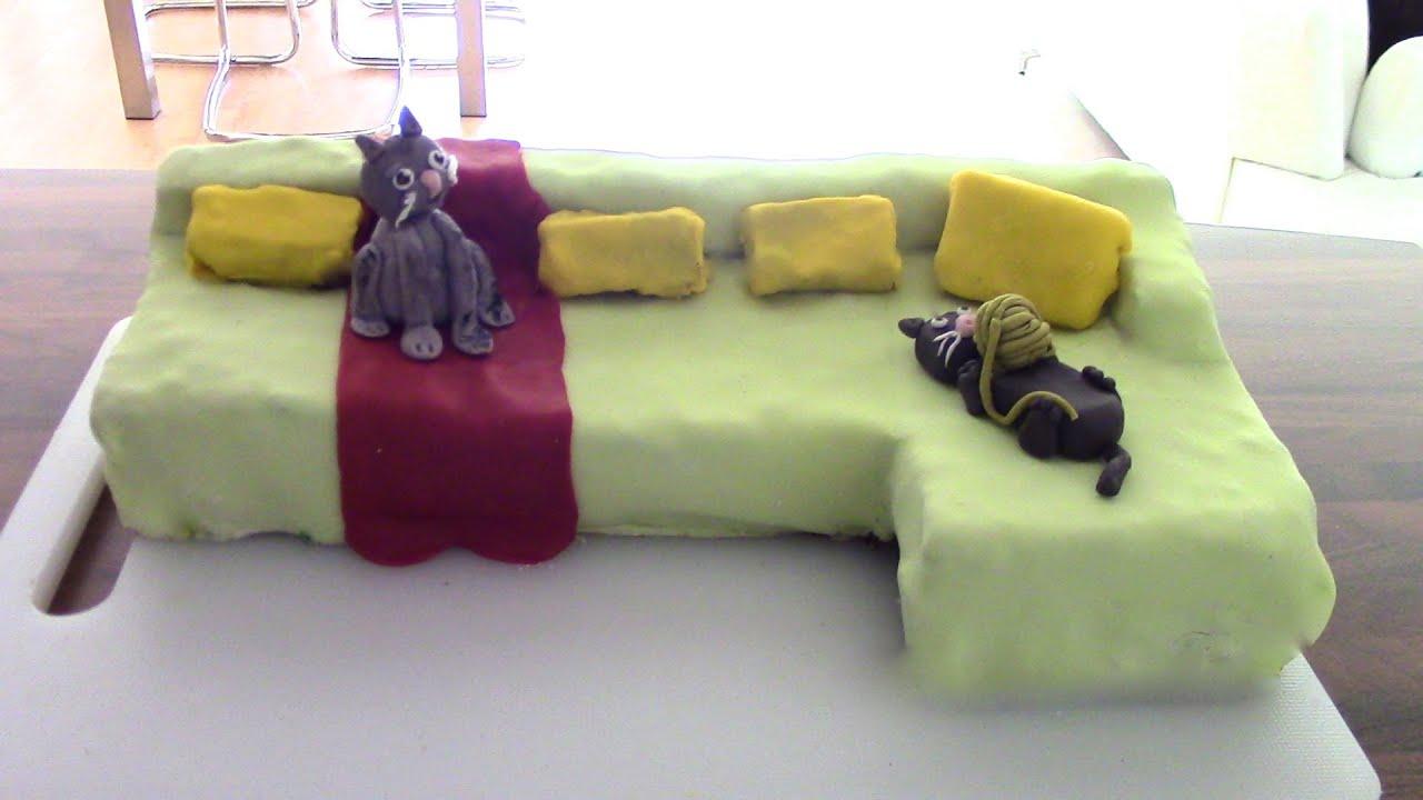 Sofa Cake Youtube