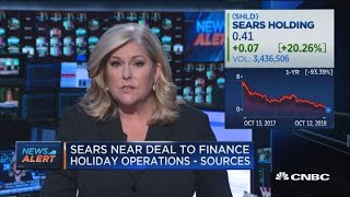 Sears near deal to finance holiday operations: Sources