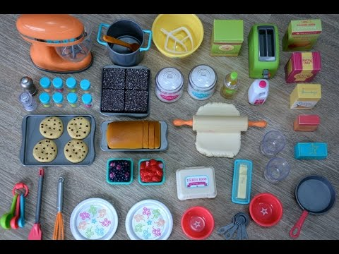 American Girl Doll Gourmet Kitchen Set ~ NEW
