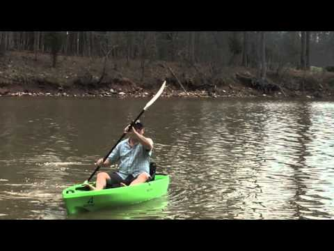 Bass pro shop ascend fs10t fishing kayak review youtube for Bass pro fishing kayak