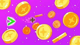 Download Mp3 ''this Side Up'' 100% By Knots  2 Coins  | Geometry Dash  2.11