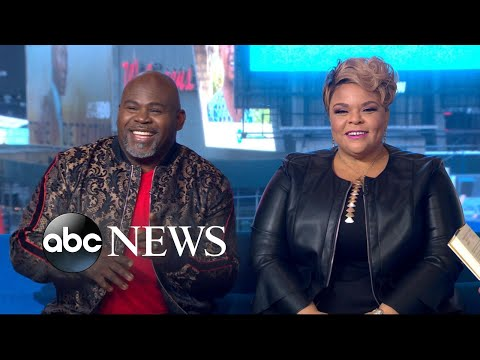 Sonya Blakey - David & Tamela Mann shining bright on GMA!