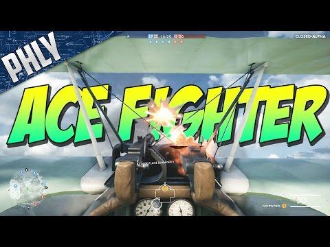 BATTLEFIELD 1 FIGHTER PLANE ACE (Battlefield 1 Gameplay)