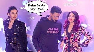 Abhishek Bachchan IGNORES Karishma Kapoor In Front Of Wife Aishwarya Rai @Shweta Bachchan's Store