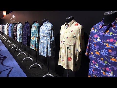 John Lasseter Hawaiian Shirt Collection   2015 D23 Expo