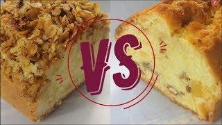 СРАВНЕНИЕ РЕЦЕПТОВ: кекс по рецепту Марты Стюарт VS Яблочный кекс