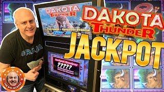 💥7 FREE GAMES AWARDED 💥Dakota Thunder BUFFALO WIN$! | The Big Jackpot