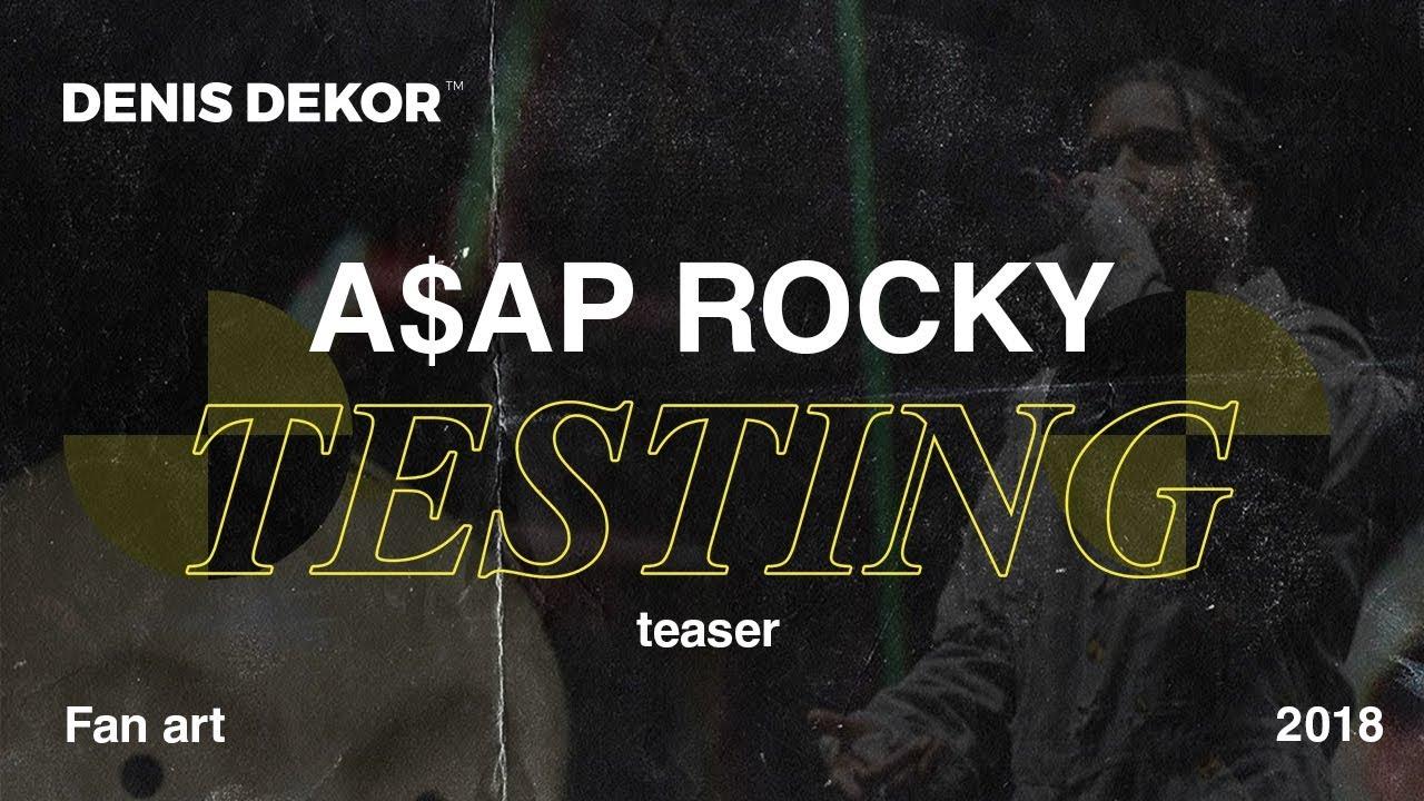 A$AP ROCKY | TESTING LAB on Behance