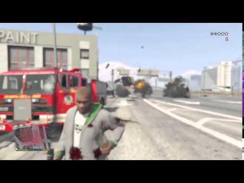 Grand Theft Auto V - Reacción en cadena