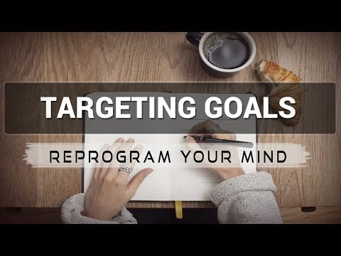 Targeting Goals affirmations mp3 music audio - Law of attraction - Hypnosis - Subliminal