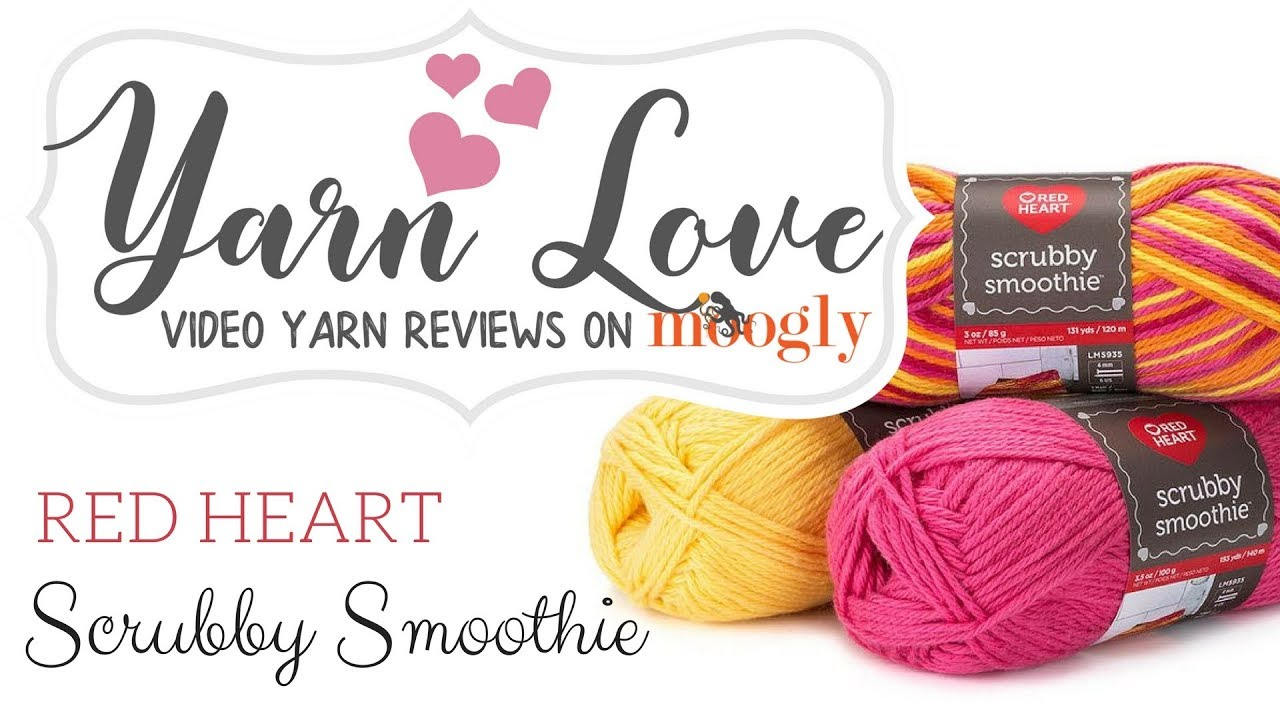 Yarn Love: Red Heart Scrubby Smoothie - YouTube