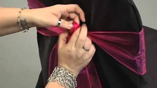 Sash Tying Tutorial - Organza Bow & Alternatives by LinenTablecloth