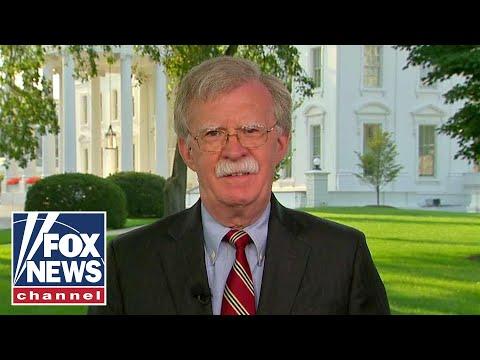 Bolton talks Iran sanctions, Russian election meddling