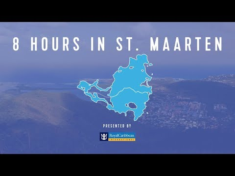 8 Hours In The Royal Caribbean: St. Maarten