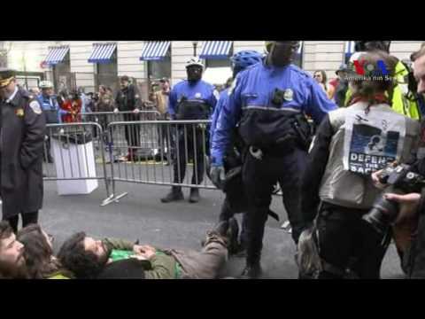 Washington'da Protesto Gösterileri