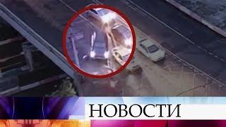 В Москве выясняют обстоятельства наезда на сотрудника ДПС.
