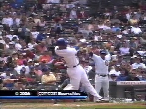 77 - Brewers at Cubs - Wednesday, June 28, 2006 - 1:20pm CDT - CSN Chicago