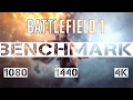 Battlefield 1 | GTX 1060 3GB | I5 6400 | 1080p, 1440p and 4K | Benchmark