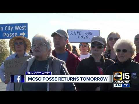 MCSO Sun City West posse to return tomorrow