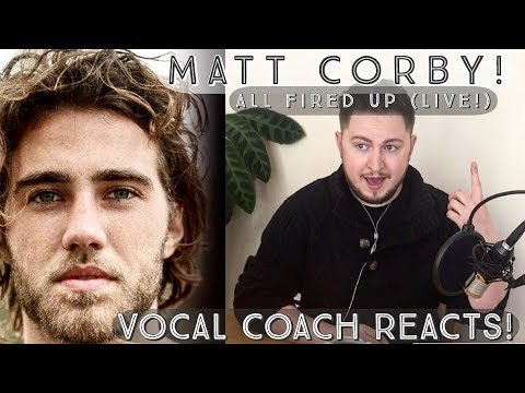 Vocal Coach Reacts! Matt Corby! All Fired Up Live!
