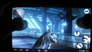 The Dark Knight Rises / Темный рыцарь: Возрождение GamePlay on Android