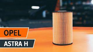 Tipy pre výmena Olejový filter OPEL