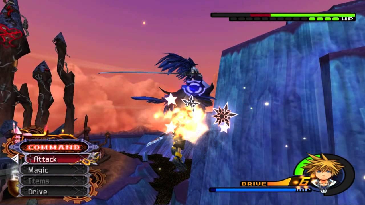 Kingdom Hearts Ii Final Mix Ps2 Sephiroth Level 99 Critical Mode