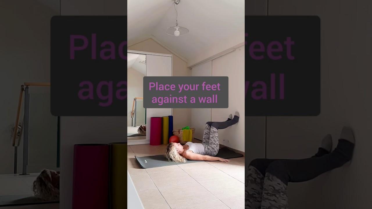 Pilates exercises for the pelvic floor