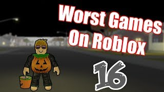 Worst Games On Roblox #16